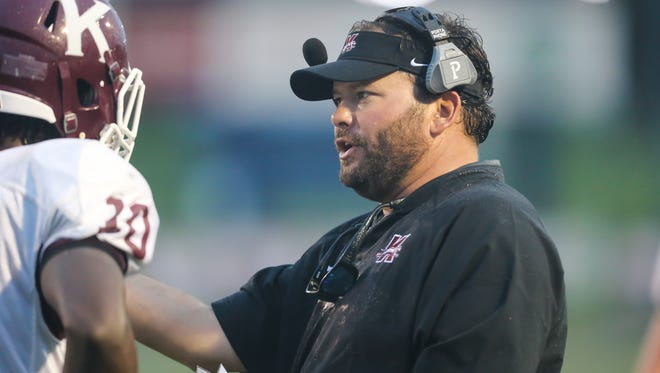 Kosciusko head football coach Chad Peterson was fired from his position with the team.