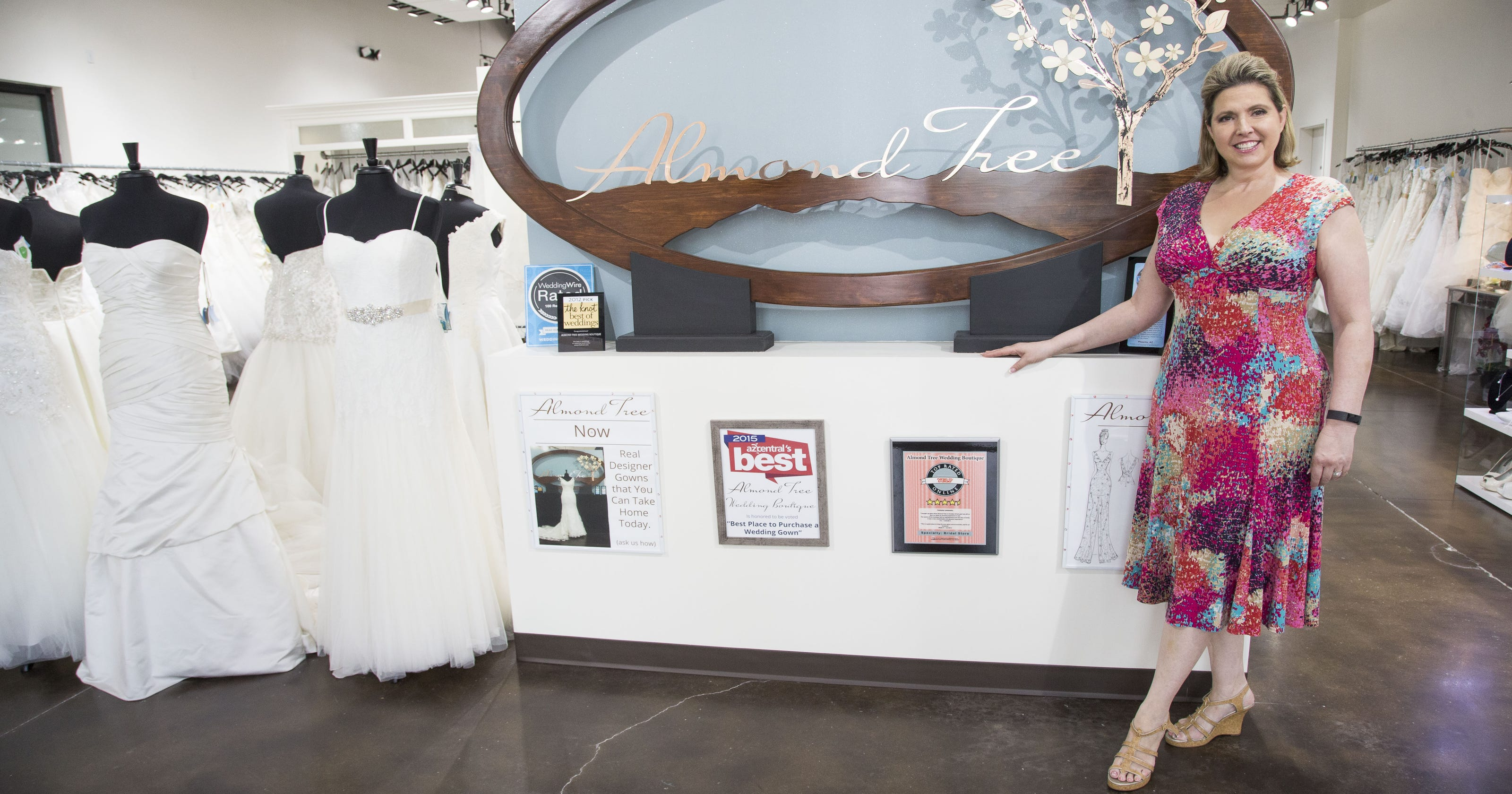 2e3a60f8d41 Phoenix boutique offers wedding dresses at fraction of cost