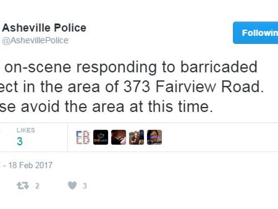 Asheville police use Twitter to communicate with the