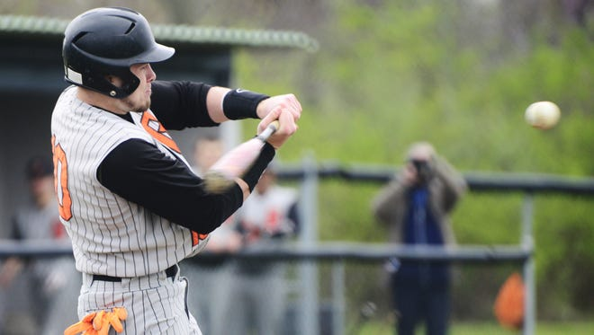 Gibsonburg's Madison Jaso missed hitting for the cycle by one hit in both games of a doubleheader Oak Harbor American Legion split with Ashland. Jaso had eight RBI in the win.