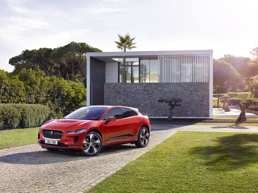 Jaguar I Pace Electric Suv The Brand S First Electric Vehicle