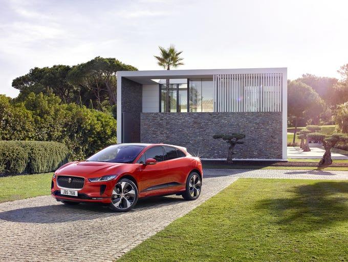 The 2019 Jaguar I-PACE electric SUV.