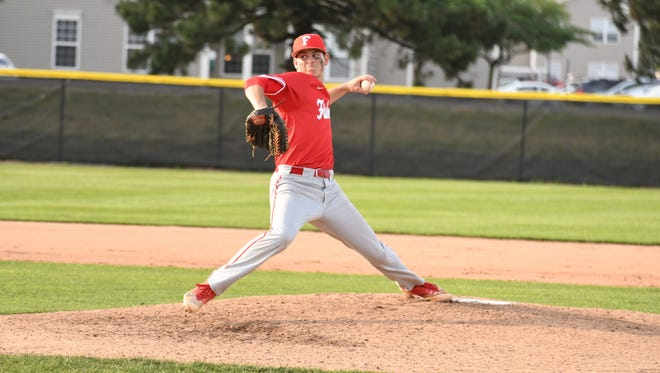 Fishers pitcher Grant Richardson struck out 10 batters in the sectional-clinching win and 12 more in the regional title game.