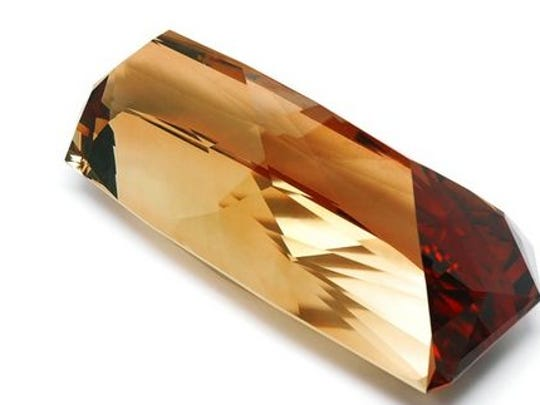 Groupon sold this beautiful topaz Monday for $1 million, its most expensive yet.