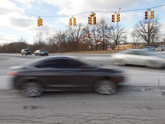 The intersection at Latson Road and M-59 has seen a