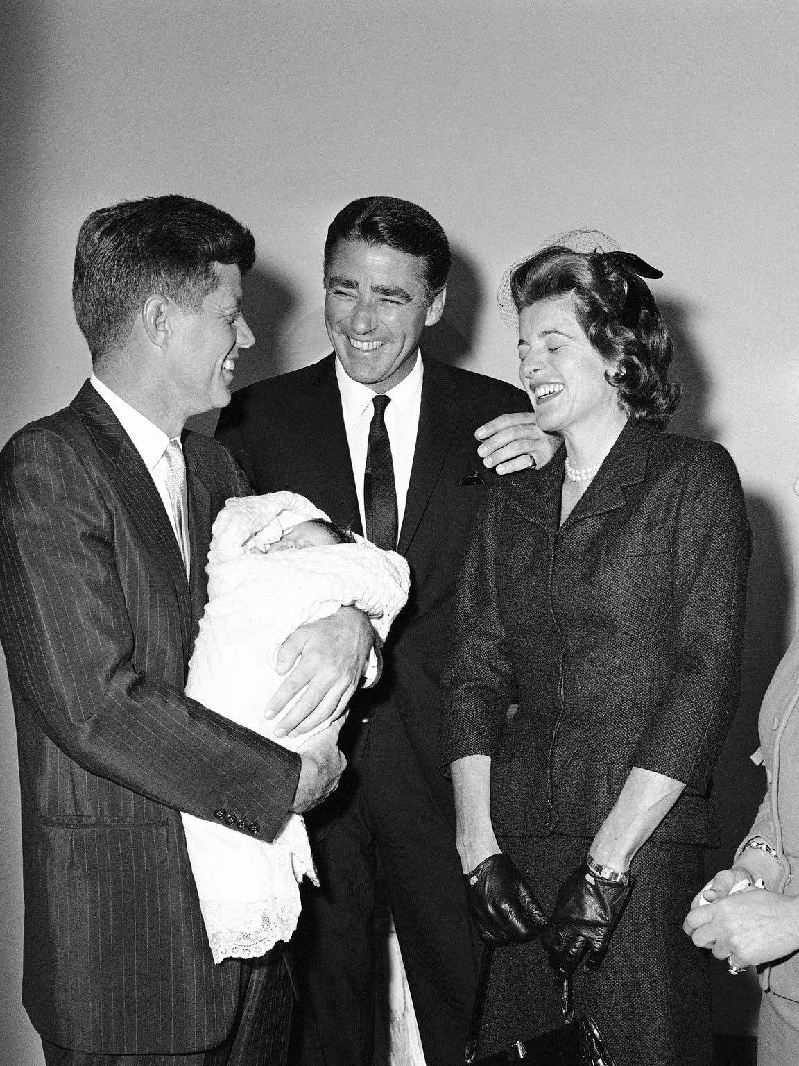 Peter Lawford, his wife the former Patricia Kennedy,