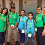 Saint Mary's-Stone Hill and Rev. Brian J. Nolan of Watchung sponsored the Lesaca family to attend the World Meeting of Families