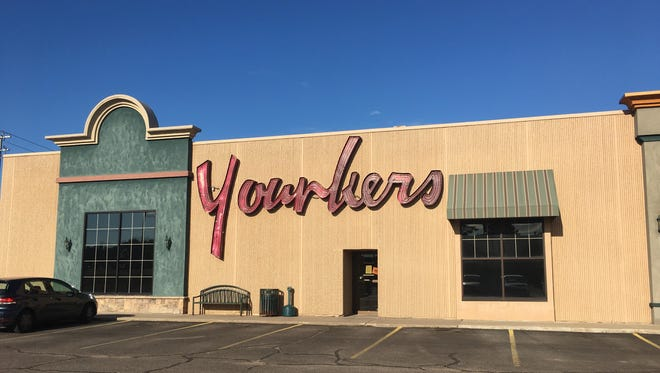 The exterior of the Younkers store located in the Marshfield Mall Tuesday, July 10, 2018.