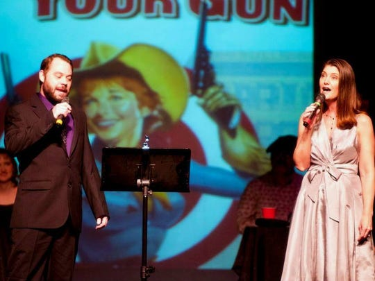 "Local favorites Keith Dodson and Joni Castello will perform in COPE's benefit ""A Music Journey to Broadway and Beyond"" on Feb. 27."