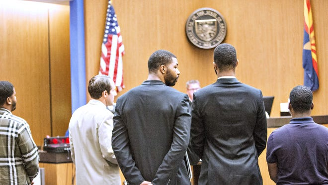 Markieff and Marcus Morris will be back on their NBA jobs before a decision is made on whether their felony aggravated assault case will be sent to a new grand jury.