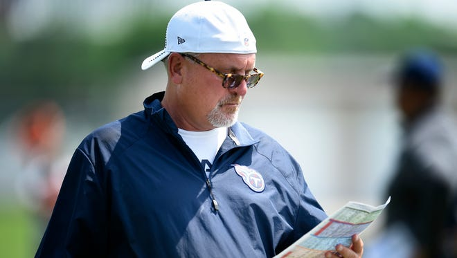 Bob Bratkowski was dismissed by the Titans on Wednesday after one season as the team's receivers coach.