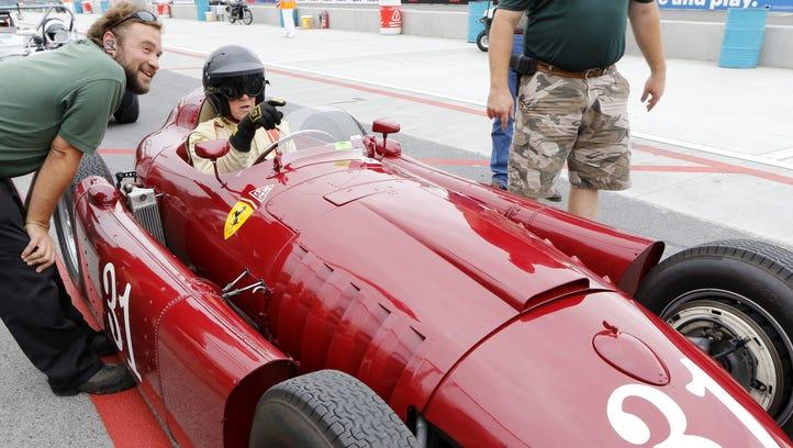 Rare Lancia Formula One car makes Glen appearance