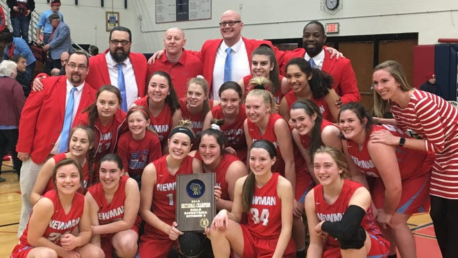 Newman Catholic earned a 52-40 win over Gillett to claim a Division 5 sectional title and advance to the state tournament.