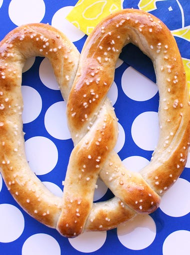 "Wetzel's Pretzels  | No purchase needed to get a free original pretzel on April 26, ""National Wetzel Day.""  