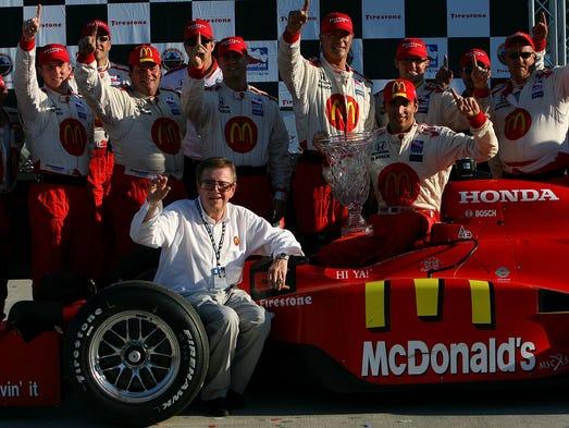 Mario Andretti Remembers Former Team Owner Carl Haas