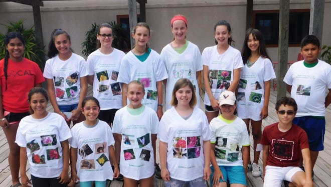 South Texas Botanical Gardens/Wildlife In Focus NATURE PHOTOGRAPHY campers wear their photos on their shirts! #vivacc