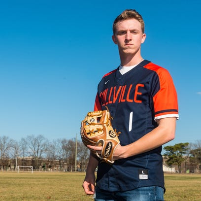 Hunter Sibley to wear Mike Trout's No. 1 for Millville baseball this season