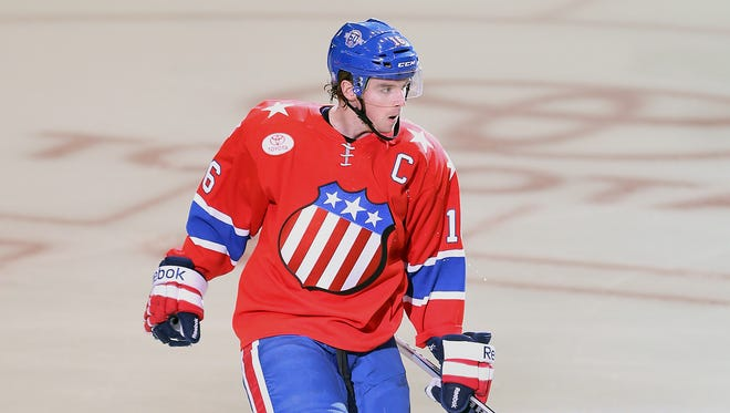 Captain Cal O'Reilly and the Amerks open their season tonight against the Hershey Bears in downtown Rochester.