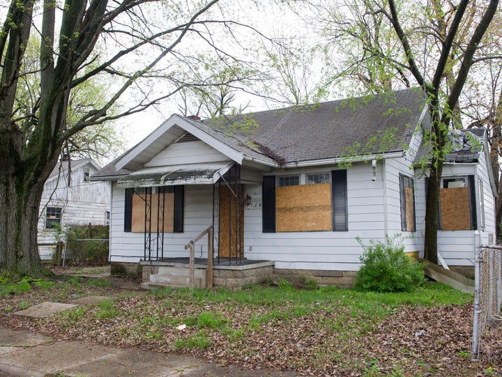 1728 S. New York Ave in Evansville, Ind. is one of