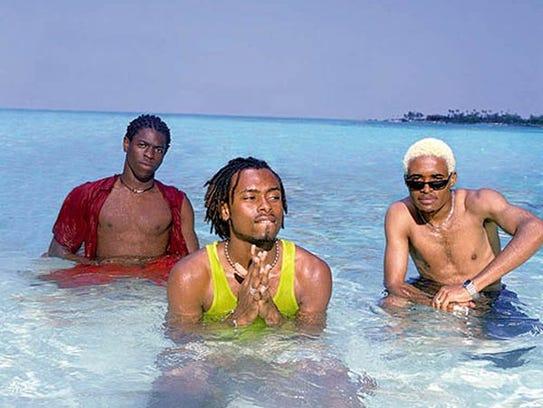 -  -Baha Men-  -The hip-hop band Baha Men is one of
