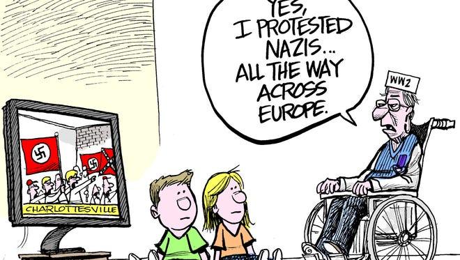Nazi protests
