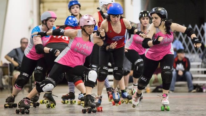 Cherry City Derby Girls' Rydell Belles will compete against the Panty Raiders to determine the league's 2015 champion Saturday at the Salem Armory.