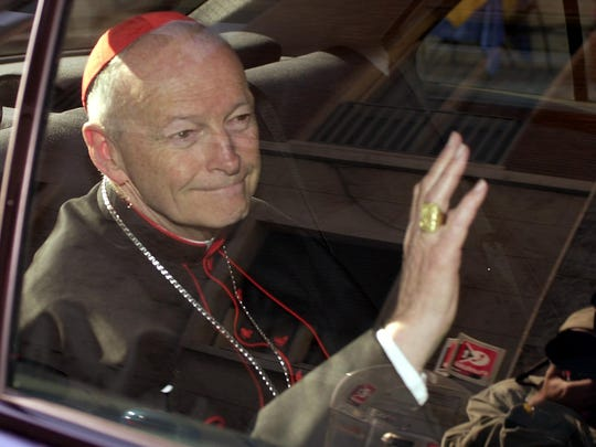 Former U.S. Cardinal Theodore McCarrick, 88, is the first churchman who reached the rank of cardinal to be defrocked in the church's sex abuse scandals.