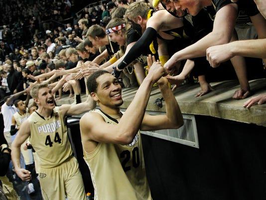 LAF Purdue men's basketball gamer Ohio State Feb 4
