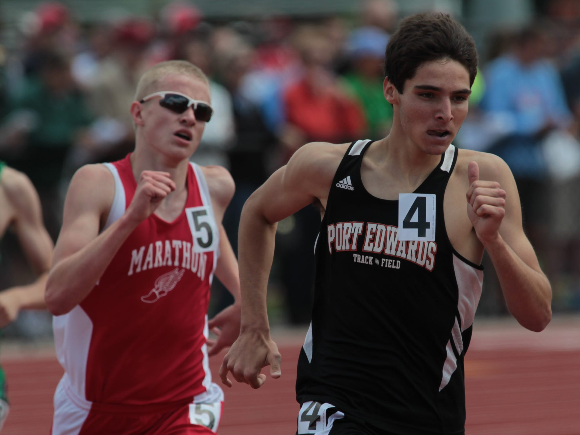Port Edwards senior Josh Schraeder medaled in the 800 and 3,200 meters at the state track meet a year ago. This year he is gunning for gold in those two races and the 1,600 and improving on his school records.