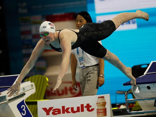 13th FINA World Swimming Championships (25m) - Day 4
