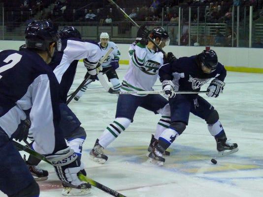 Flyers vs Icegators 8