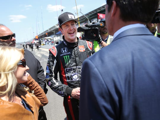 Kurt Busch pulled off the Indy 500 and Coca Cola 600 double this year.