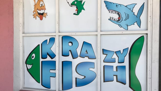 Krazy Fish is at 211 Avenue A in Fort Pierce.