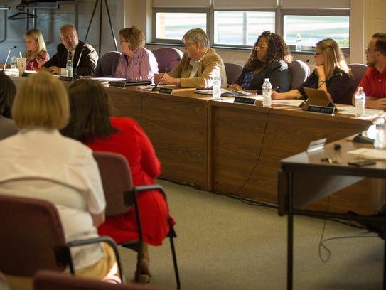 The Muncie Community School Board met on Aug. 22 to