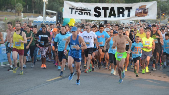 Nearly 2,000 people turned out for the 29th annual Palm Springs Aerial Tram Road Challenge 6K Run & Walk. This year's event takes place at 7 a.m. Saturday, October 26, 2019.