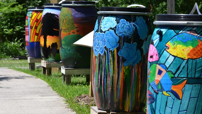 Bayou Vermilion Preservation Association rain barrel auction is Feb. 10-March 12. Not only are rain barrels beautiful and one-of-a-kind, but they promote outdoor water conservation and sustainable storm water management of the Bayou Vermilion Watershed.