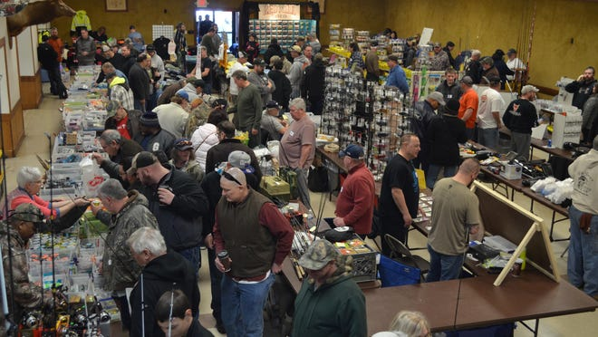 The South Jersey Bass Club Association hosted its annual fishermen's flea market Saturday at the Millville Elks Lodge, 1815 E. Broad St., Millville. More than 30 vendors offered saltwater and freshwater fishing supplies.