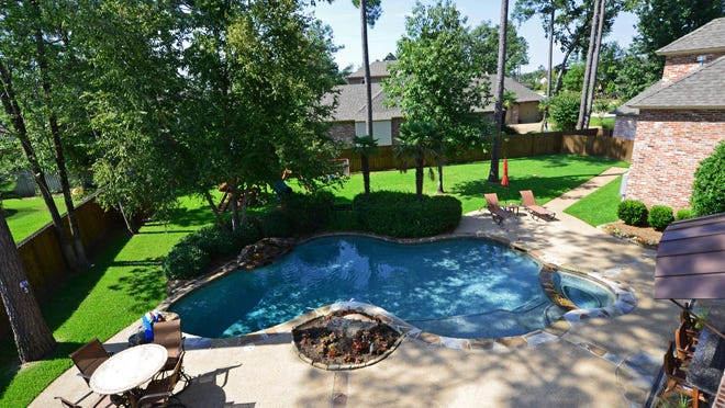 10584 Longfellow Trace, Shreveport$989,0005 Bedrooms, 4 baths, 6,500 square feetSpecial features: Outdoor living space complete with kitchen and saltwater pool, winding staircase, wet bar, media room.Call Paige Hoffpauir, 798-7223