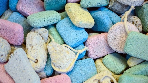 Pumice stones are a great way to get pet hair out of carpets.