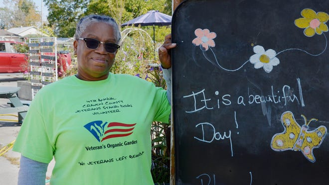 Lovay Wallace-Singleton, founder of the Veterans Employment Base Camp and Organic Garden in New Bern, says she is looking to relocate the Duffyfield community non-profit to a new site.