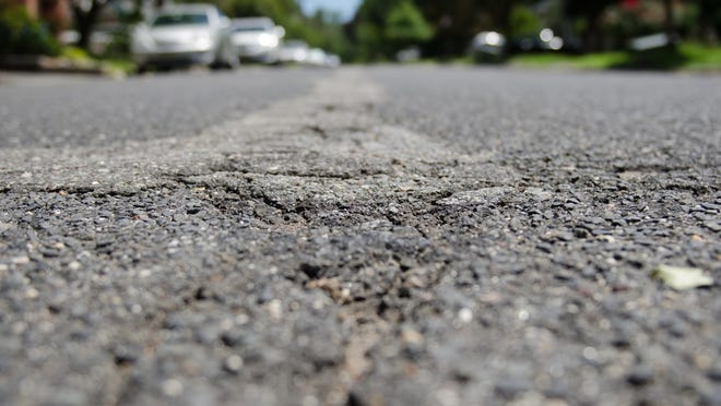 Franklin Council approved road resurfacing projects. File photo