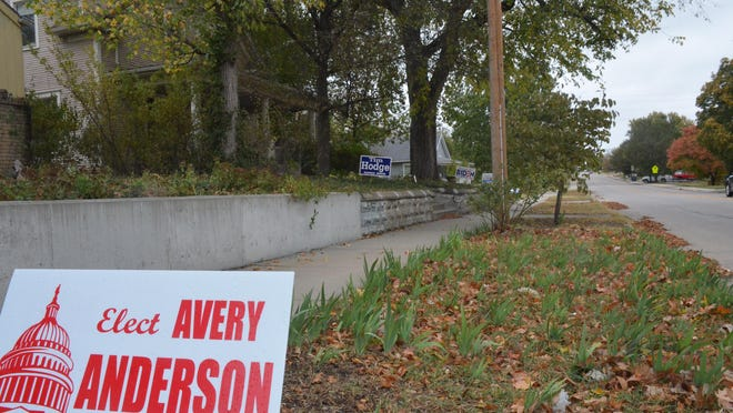 According to Newton police, political signs go missing during every election cycle -- and both major party candidates are affected.