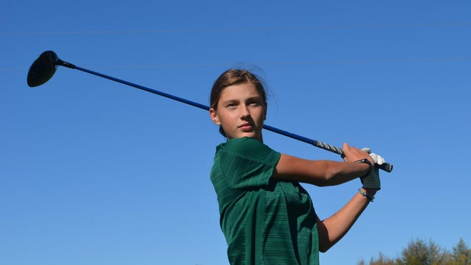 Zeeland West's Rylee Smith is the Holland Sentinel Golfer of the Year.