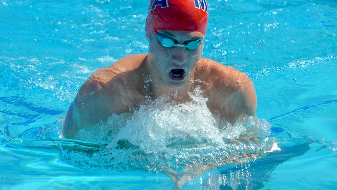 MLA's Derek Maas competes at the 2019 U.S. National Championships in Palo Alto, California.