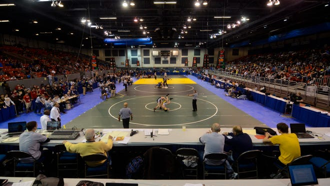 Kellogg Arena has been the site of the MHSAA Team Wrestling State Finals since 1988.