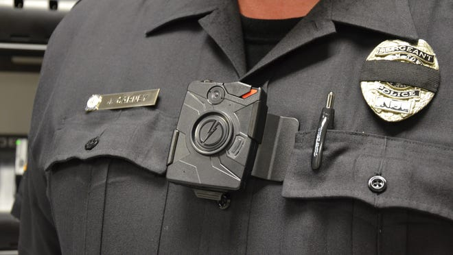 Evesham police recently equipped 48 patrol and traffic officers with <137,2014/07/19,Keller/c Ilana1>a <137>high-tech body video cameras. The force hopes the devices will enhance officer safety and promote accountability.