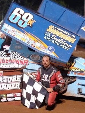 Lance Dewease of Fayetteville captured the Kevin Gobrecht Classic at Susquehanna Speedway Park on Sunday night.