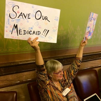 Cedar Rapids resident Melyssa-Jo Kelly, an advocate