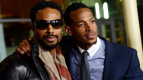 "Shawn and  Marlon Wayans arrive at the premiere of  ""A Haunted House"" in Los Angeles in 2013."