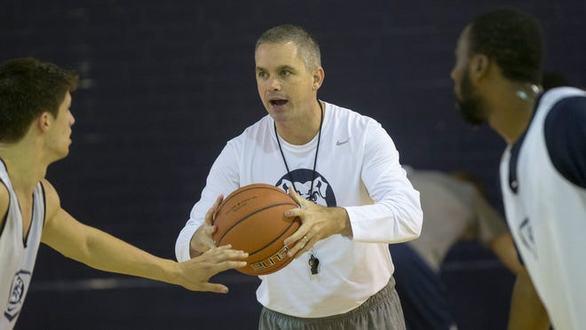 Chris Holtmann said the decision to make him permanent coach now, rather than waiting until the season ends, helps Butler's recruiting.